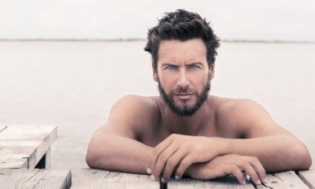 attractive alpha male