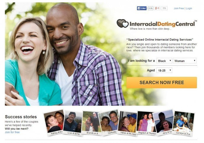 Interracial dating central free