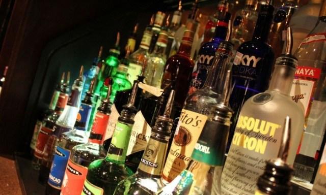 tower of liquor