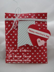 Treat Bag for Valentines Day