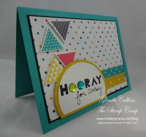 Stampin' Up! Geometrical side view