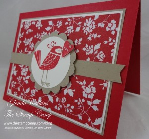 Stampin' Up! Love You More Birdie