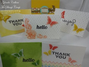 Watercolor Wonder Designer Note Cards with box