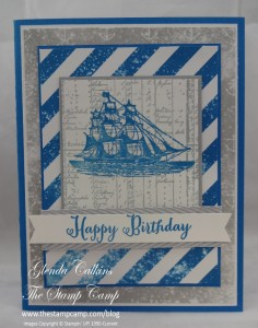 Stampin' Up! Open Sea