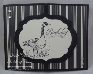 Wetlands Card with Interlocking Front