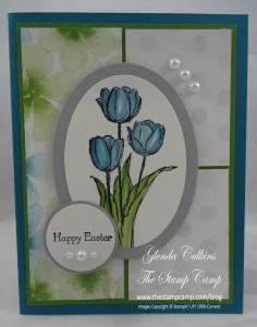 Blessed Easter Watercolor Wonder