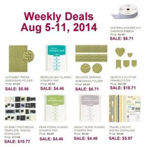 Weekly Deals August 5 - 11