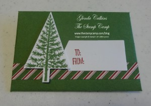 Gift Card Envelope Thinlits Die