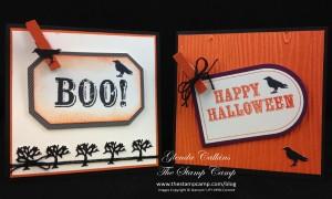 Sept My Paper Pumpkin cards