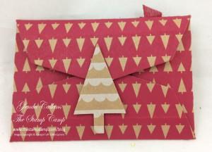 Backside of Gift Card HOlder