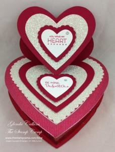 Easel Heart