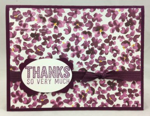 Painted Blooms Designer Paper