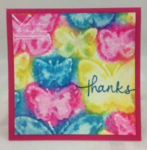 watercolored embossing folders