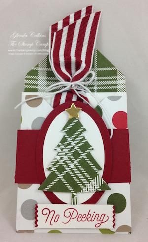Envelope Punch Board Gift Card Holder card