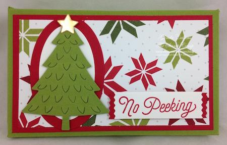 Treat Holder:Gift Card Holder #4