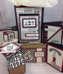 Stampin' Up! Guy Greetings Stamp Set of the Month For May