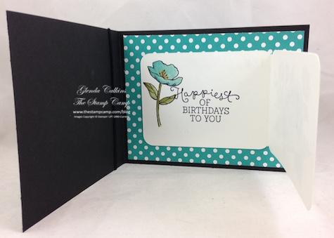 Birthday Blooms Inside Cards & Lavbels