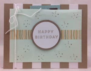 Stampin' Up! Banner Surprise June's Paper Pumpkin Kit