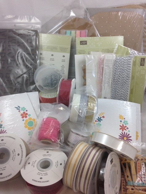 Retired Stampin' Up! products