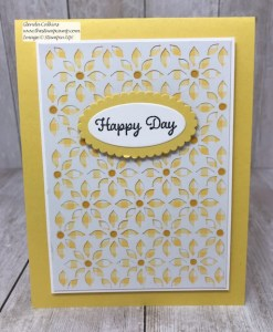 Happy Day Delightfully Detailed Laser Cut Paper