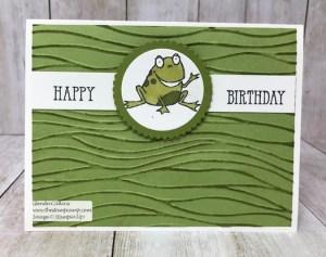 So Hoppy Birthday by Glenda Calkins