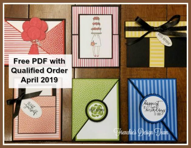 This is the Customer Appreciation PDF File for April. Details: www.thestampcamp.com #stampinup #thestampcamp #giftcardholders