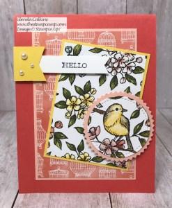 Bird Ballad Designer Paper and Sketch Challenge