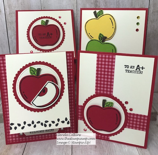 My featured stamp set for September is the Harvest Hello Bundle from Stampin' Up! Details are on my blog here: https://wp.me/p59VWq-amY #stampinup #thestampcamp #harvesthello #handmade