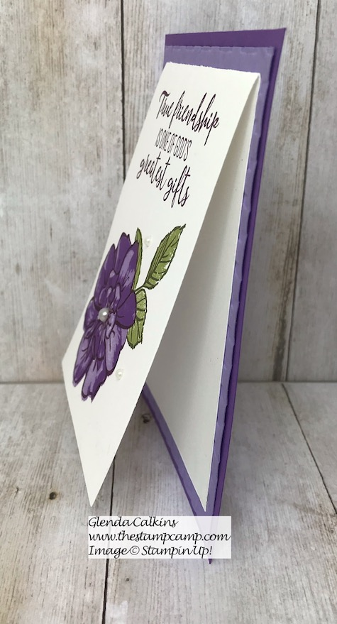 To A Wild Rose stamp set from Stampin' Up! perfect for so many occasions. Details are on my blog here: https://wp.me/p59VWq-aox #stampinup #toawildrose #rose #thestampcamp