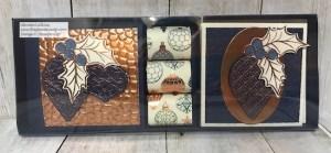 Christmas Gleaming Cards & Chocolates Gift Box