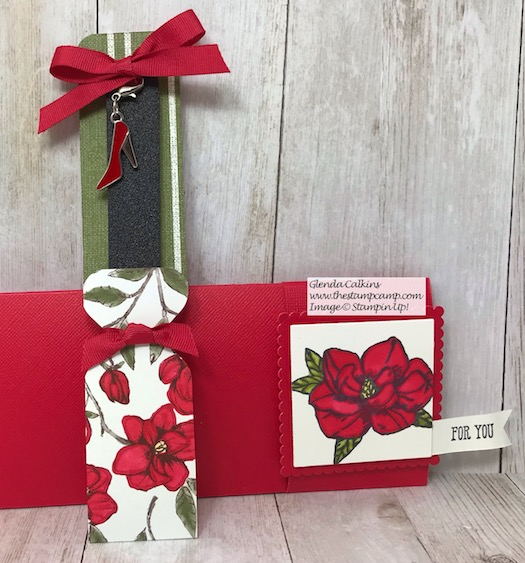 A little giftie for my upline France Martin for the November Onstage with Stampin' Up! Details and what's inside on my blog here: https://wp.me/p59VWq-ays #stampinup #thestampcamp #handmade #Onstage