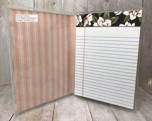 Need a Notebook or a Score Pad for playing cards. This little gift works for both. Details on my blog here: https://wp.me/p59VWq-aCS #stampinup #thestampcamp #notepad