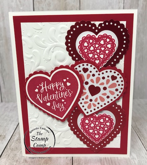 The Heartfelt Bundle is the perfect stamp set and punches for Valentine's Day Cards create them quick and easily with this bundle. Details on my blog here: https://wp.me/p59VWq-aJi #stampinup #valentinesday #thestampcamp #heartfelt