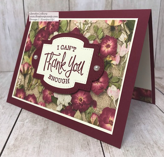The New So Sentimental Bundle has the perfect sentiments and coordinating framelit dies to create quick and easy cards in not time. Details are on my blog here: https://wp.me/p59VWq-aHm #stampinup #thestampcamp #sosentimental #pressedpetals