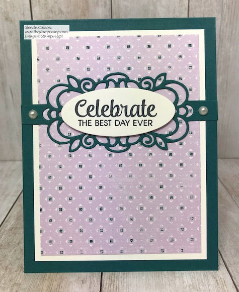 The Woven Threads Designer Series Paper and the Band Together Bundle pair perfectly together. Details are here: https://wp.me/p59VWq-aHE #stampinup #Woventhreads #bandtogether #thestampcamp