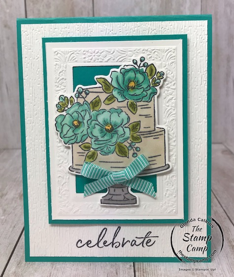 Happy Birthday to You is a FREE Sale-a-bration item you can choose with a min. $50.00 order; plus it now has coordinating dies you can purchase! LOVE IT! Details are here: https://wp.me/p59VWq-aNa . #stampinup #saleabration #birthday #thestampcamp