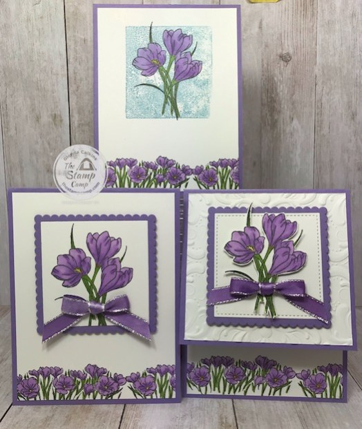 This is my Stepped Up Wow Easter Promise Card. I've been taking this stamp set from simple stamping up to Wow stamping. Details are on my blog here: https://wp.me/p59VWq-aRO #stampinup #simplestamping #easterpromise #thestampcamp