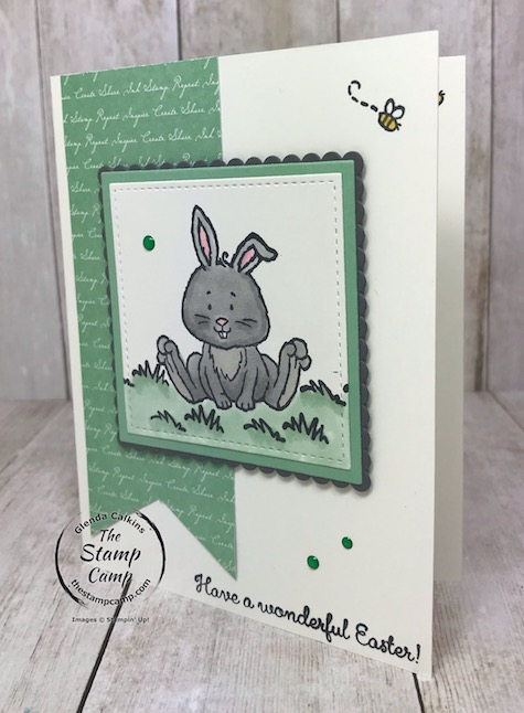The Easter Bunny will be stopping by soon; are you ready with your cards and treat holders? Visit my blog here: https://wp.me/p59VWq-aQx . #stampinup #welcomeeaster #easter #thestampcamp