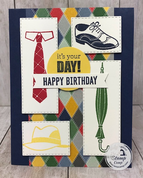 The Well Dressed stamp set is FREE with a min. $50.00 order. It is in the 2nd release of Sale-a-bration 2020. Details are on my blog here: https://wp.me/p59VWq-aPc #stampinup #saleabration #thestampcamp #welldressed
