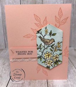 Simple Stamping with Free As A Bird Stamp Set