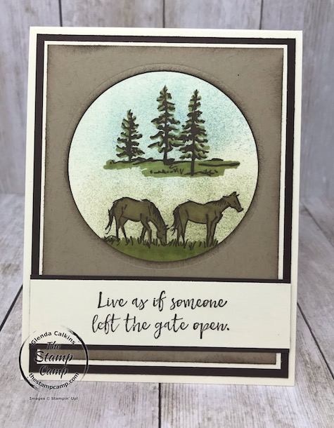 The Let it Ride stamp set from Stampin' Up! is on the retired list and soon will be no longer available to order. Details on this set are on my blog here: https://wp.me/p59VWq-bdS. #stampinup #letitride #thestampcamp #horse