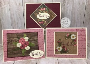 Stampin' Up! Pressed Petals Specialty Paper