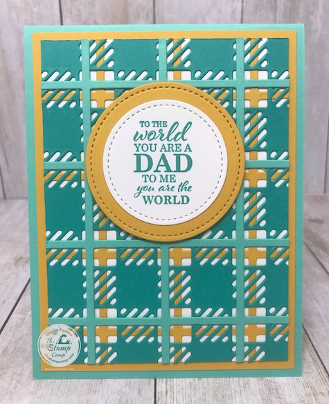 The Best Year Bundle with the Best Plaid Builder dies from Stampin' Up! is perfect for so many occasions. You can create your own plaid in any color that you wish. Great for so many occasions. Details are on my blog here: https://wp.me/p59VWq-bhM #stampinup #thestampcamp #glendasblog #plaidbuilder #bestyear
