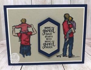 Take 2 On A Good Man Stamp Set