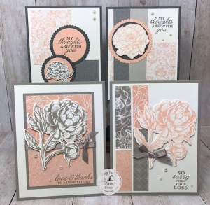 Prized Peony Bundle Featured Stamp Set for July