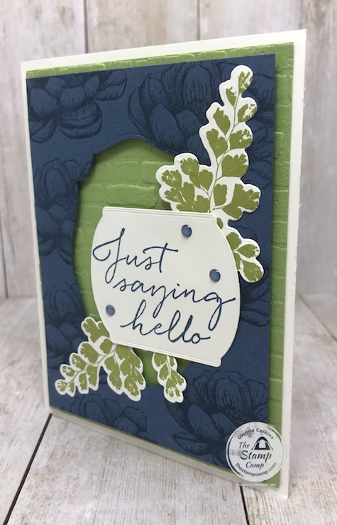 I love it when I can pair 2 different stamp sets together to create a beautiful card. I found the perfect pairing with the Positive Thoughts Bundle and the Tasteful Touches Bundle. I love it when that happens. Details are on my blog here: https://wp.me/p59VWq-bgr. #stampinup #thestampcamp #handmadecards #tastefultouches #positivethoughts