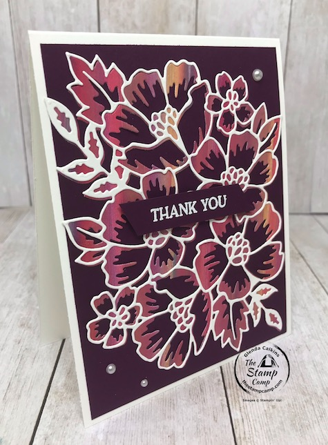 The baby wipe technique can bring results that you really have never thought to try before. This card started off being a hideous color but after it dried I dug it out of the garbage and created these cards. What do you think? Details are on my blog here: https://wp.me/p59VWq-blS #stampinup #technique #babywipe #thestampcamp