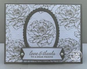 Bonus Card #4 Spotlighting Your Own Designer Paper