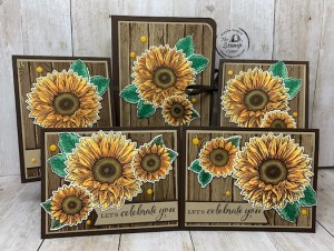 Celebrate Sunflowers Featured Stamp Set for August!