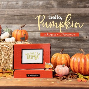 Hello, Pumpkin September's Paper Pumpkin Kit